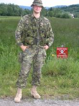 Sergent Rémy Pichette 2004, OP PALLADIUM, Bosnie