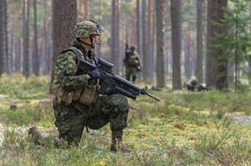 Caporal Vincent Garon 2015, OP REASSURANCE, Lettonie