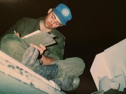 Caporal-chef Carl Bérubé 1993, OP CAVALIER, Bosnie
