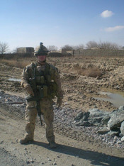 Lieutenant Mathieu René 2010, OP ATHENA, Kandahar, Afghanistan