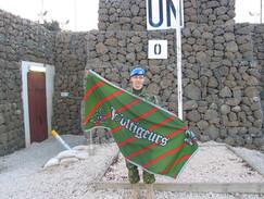 Caporal Pierre-Luc Moisan 2004, OP DANACA, Plateau du Golan
