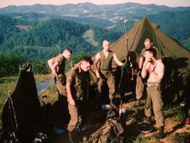 Caporal-chef Carl Bérubé, Caporal Marc Charbonneau, Caporal Sylvio Lavallée, Sergent Philippe Simoneau 1993, OP CAVALIER, Bosnie