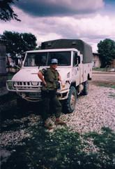 Caporal Laurent Desponts 1997, OP STABLE, Haïti