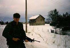Caporal Patrick Faucher 1999, OP PALLADIUM, Bosnie