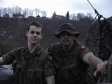 Caporal Patrick Bégin, Caporal François Laprise 2001, OP PALLADIUM, Bosnie