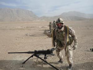 Adjudant-maître François Demers 2013, OP ATTENTION, Kaboul, Afghanistan