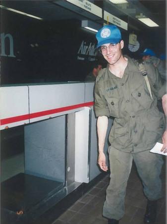 Soldat Éric St-Gelais 1993, OP CAVALIER, Bosnie