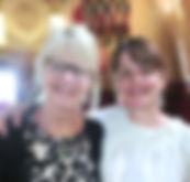 Avec Eline Snel lors de ma certification