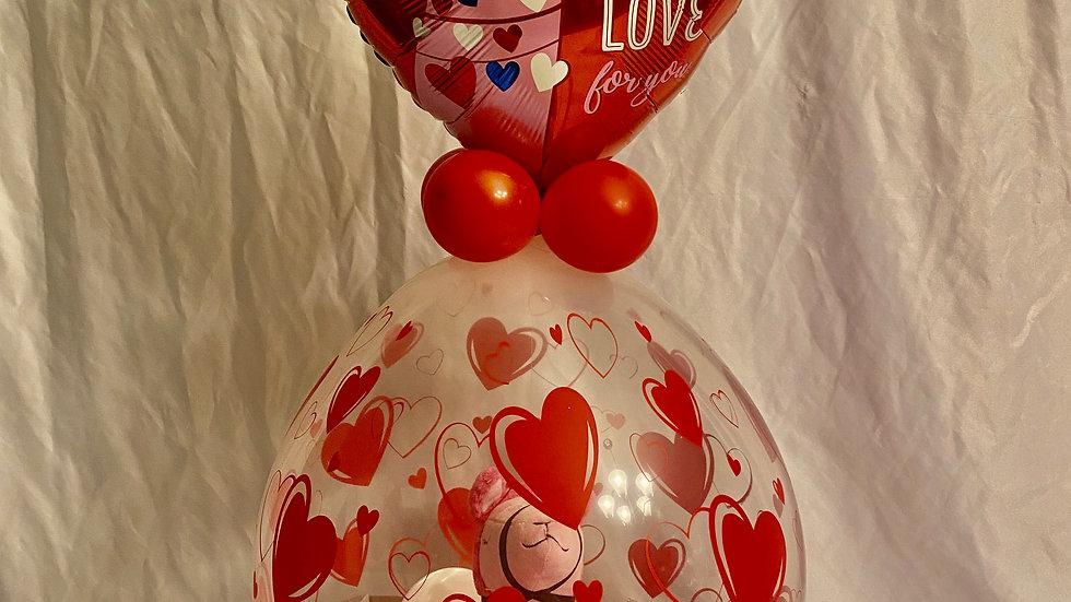 Pink Llama in stuffed Balloon