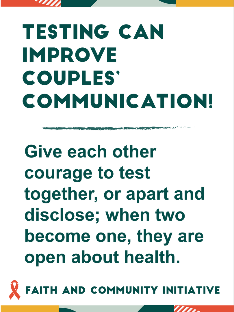 Testing Can Improve Couples' Communication