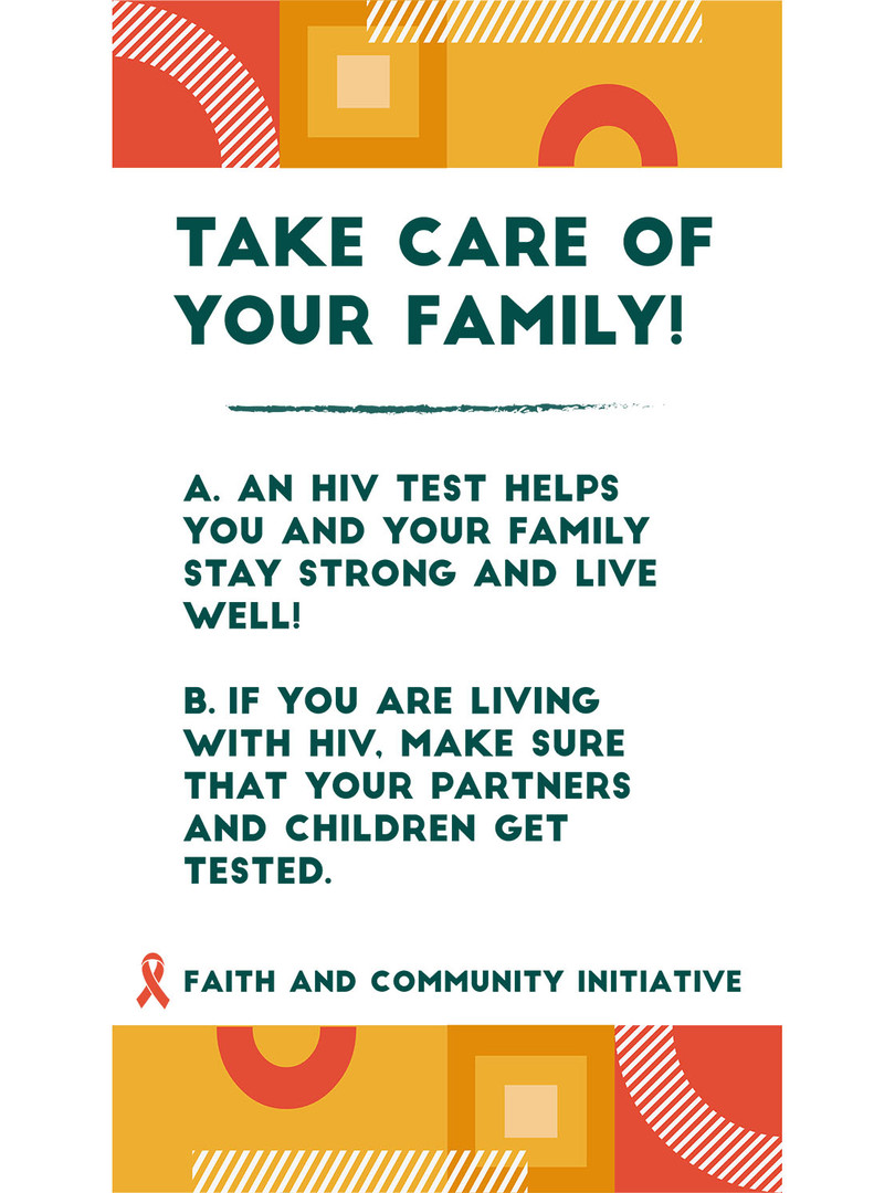 1 - Take Care of Your Family