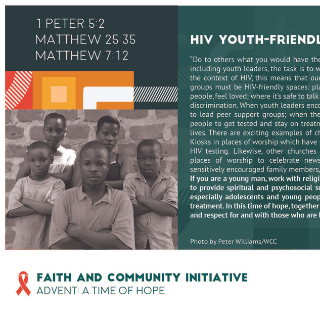 Reflection 21 - HIV Youth Friendly Space
