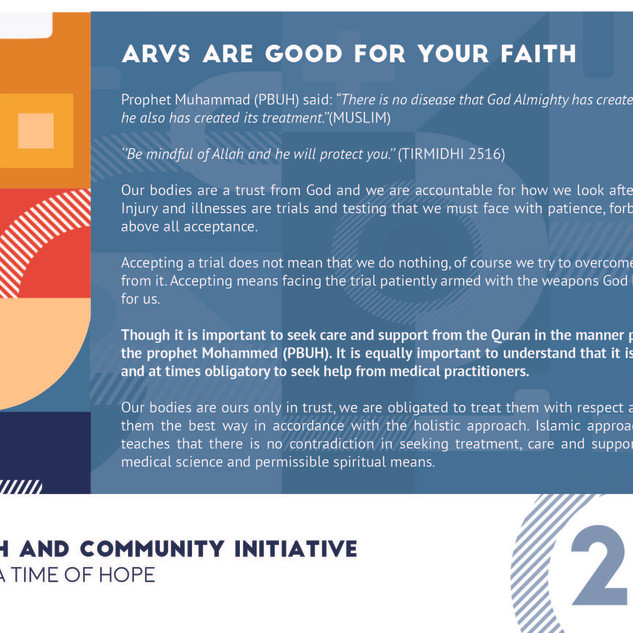 Reflection 20 - ARVs Are Good For Your H