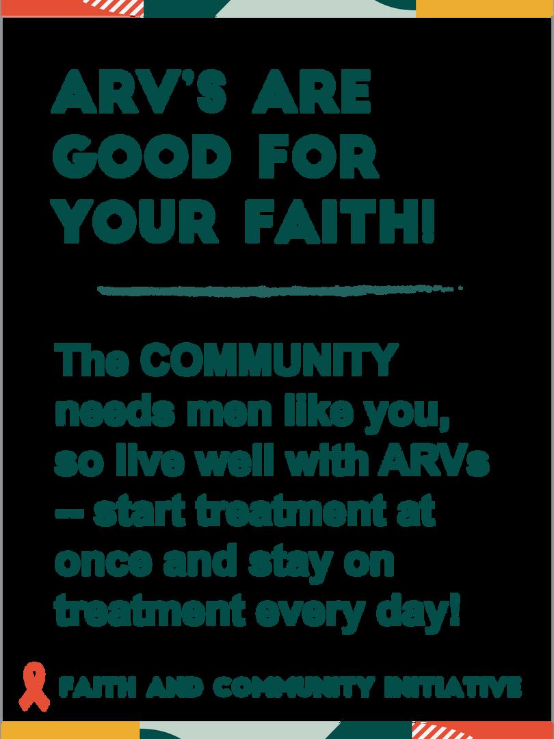 ARV's Are God For Your Faith