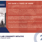 Reflection 2 - We Raise A Voice of Hope!