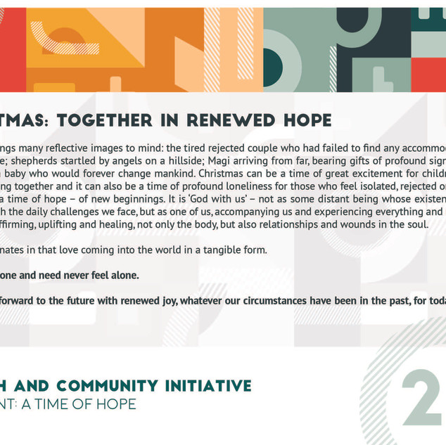 Reflection 25 - Christmas Together in Re