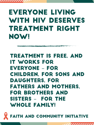 Everyone Living with HIV Deserves Treat.