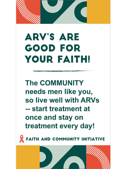 4 - ARVs Are Good For Your Faith