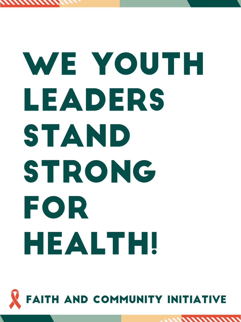 We Youth Leaders Stand Strong for Health