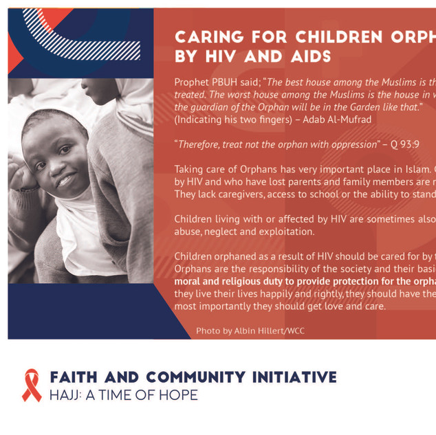Reflection 25 - Caring For Children Orph