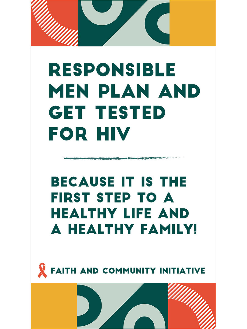 4 - Responsible Men Plan And Get Tested