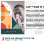 Reflection 8 - Quite Voices of Encouragm