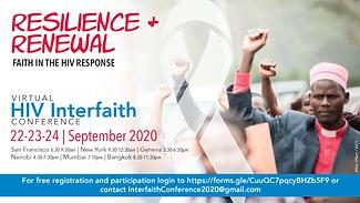 Interfaith Conference Flyer - No UNAIDS.