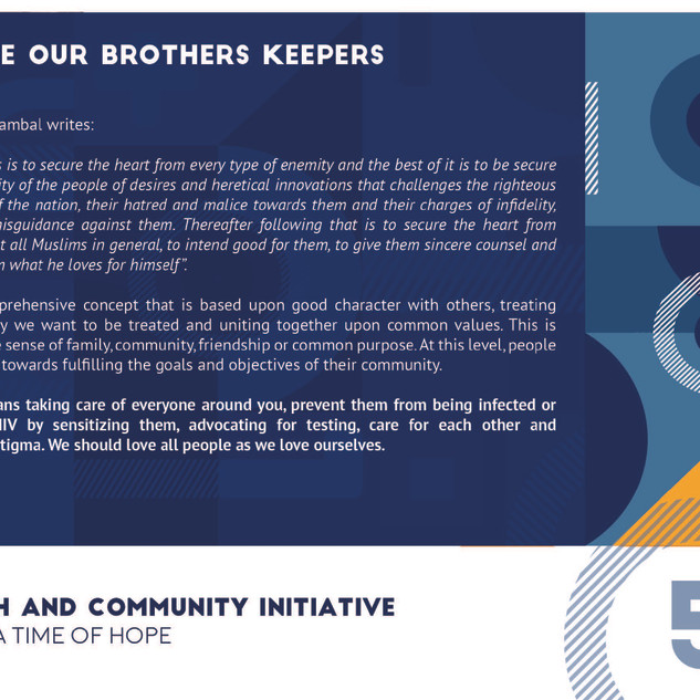 Reflection 5 - We Are Our Brothers Keepe