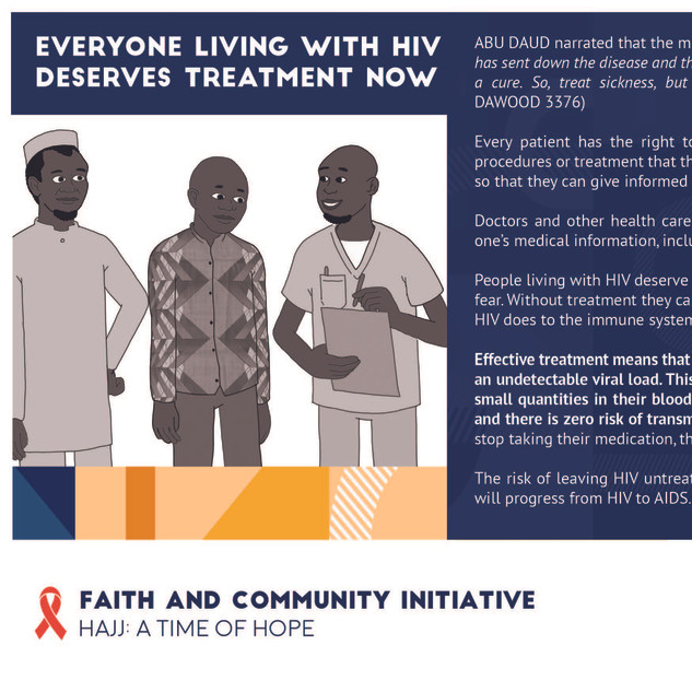 Reflection 14 - Everyone Living With HIV
