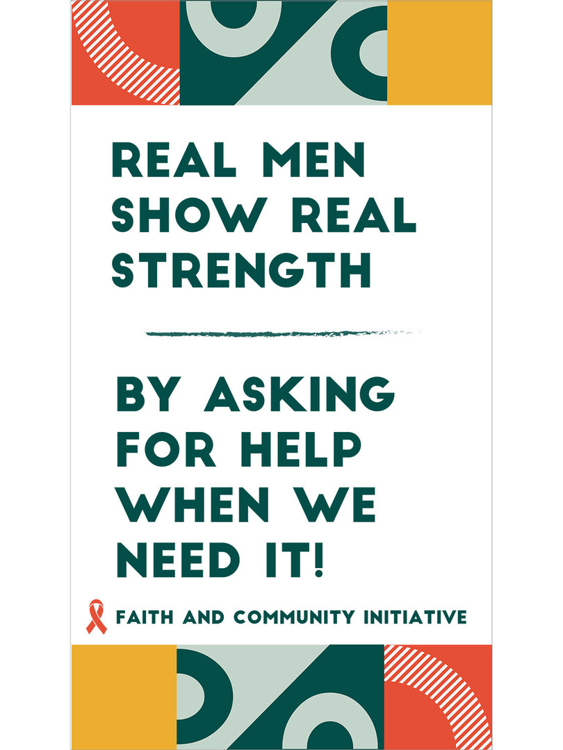 2 - Real Men Show Real Strength
