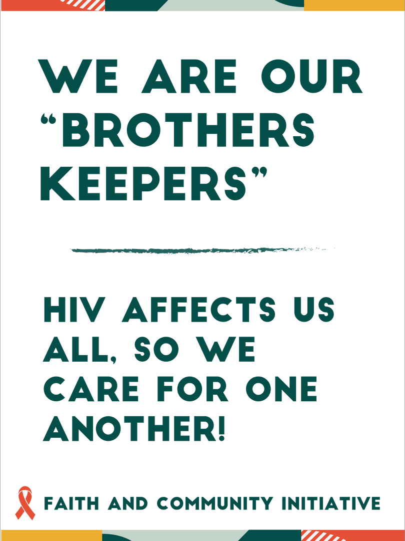 We Are Our Brothers Keepers