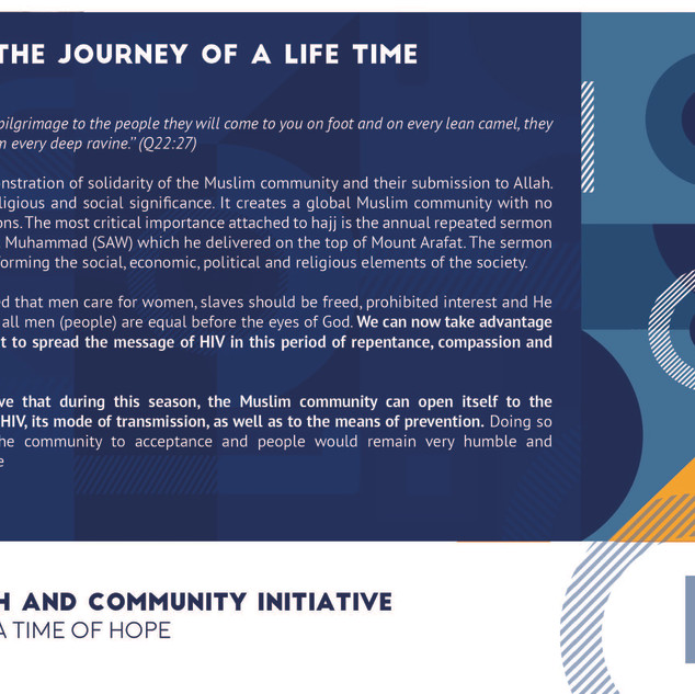 Reflection 1 - Hajj - The Journey of a L