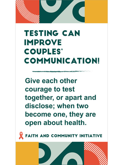 5 - Testing Can Improve Couples Comm.