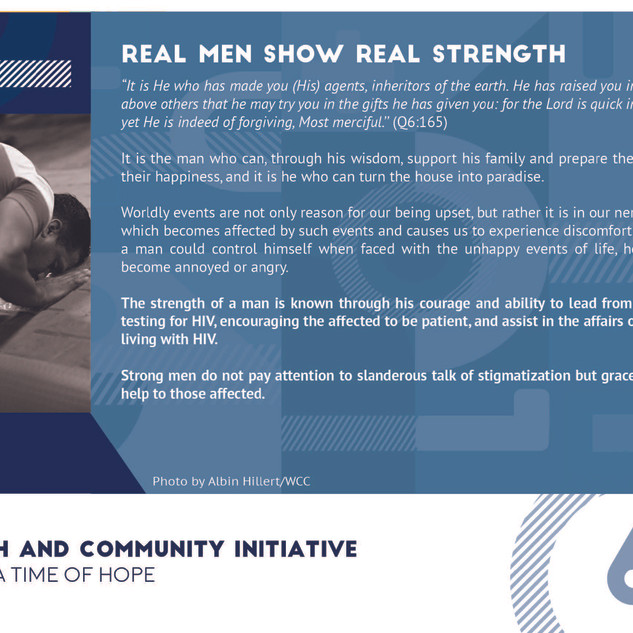 Reflection 6 - Real Men Show Real Streng