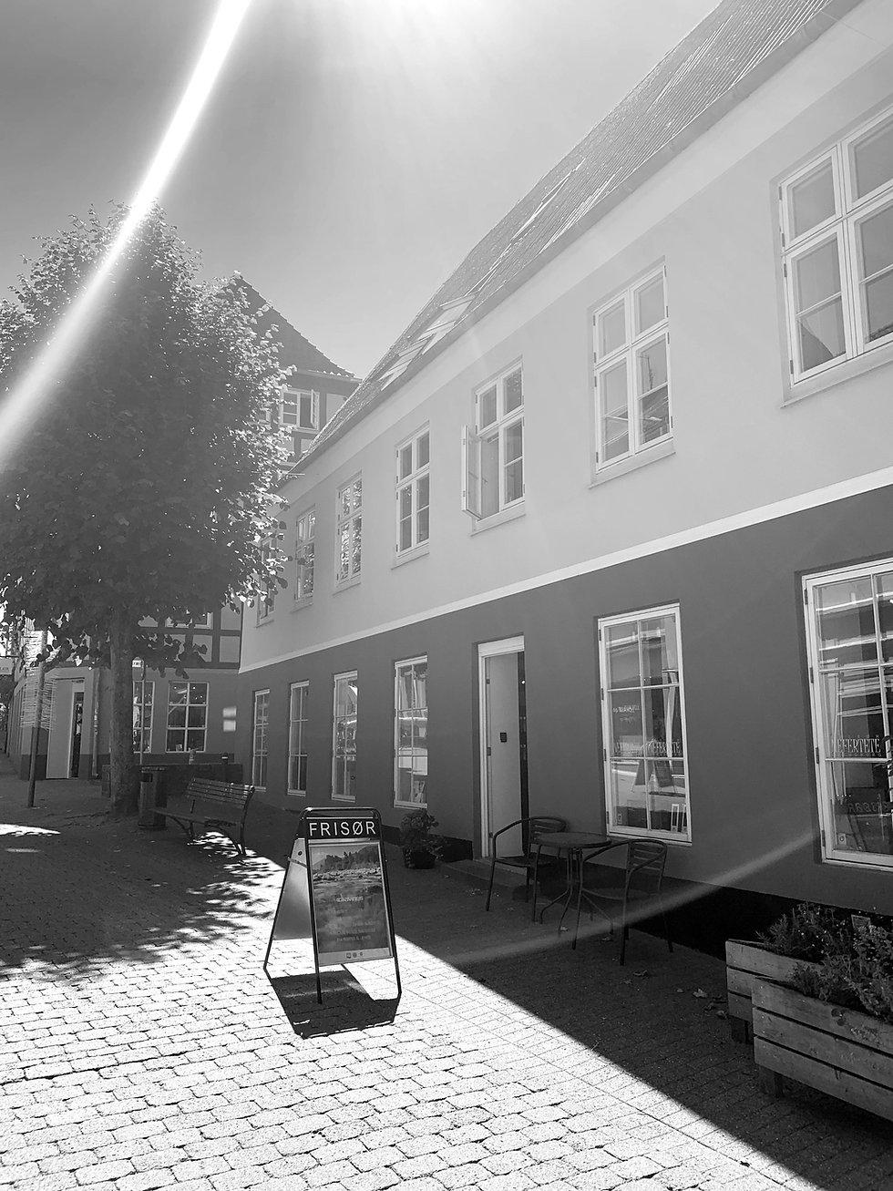 Farcade til Frisør Nefertete - Svendborg