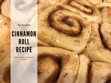 The Very Best Homemade Cinnamon Rolls Recipe