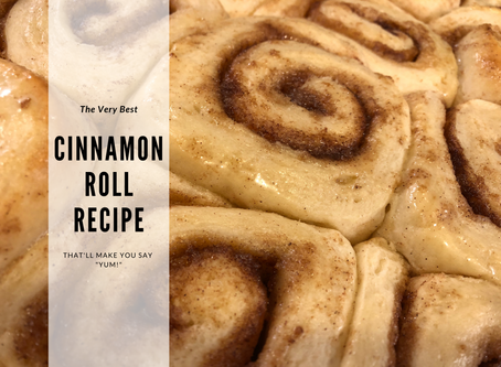 The Very Best Homemade Cinnamon Rolls Recipe