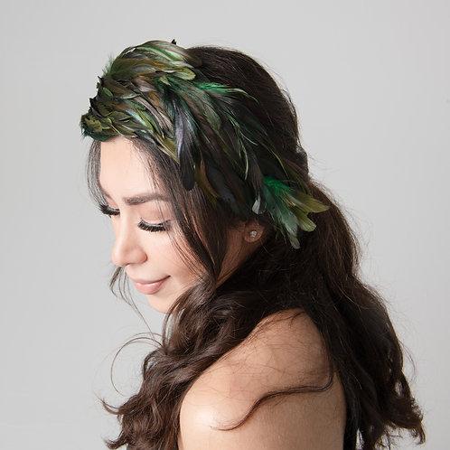 Phoebe Feathered Headband