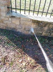Transforming Limestone Fence