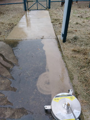 During Surface Cleaning