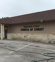 Church of Christ Activity Sign Before.png