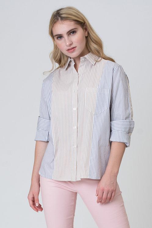 Mixed Color Shirt