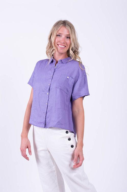 Short Sleeves Botton Up Shirt