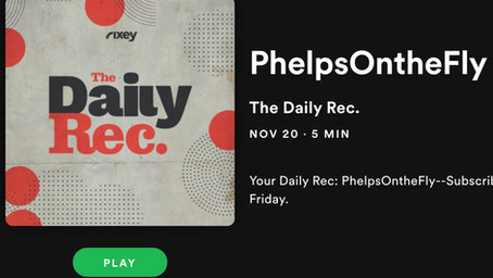 Podcast Feature on Daily Rec.