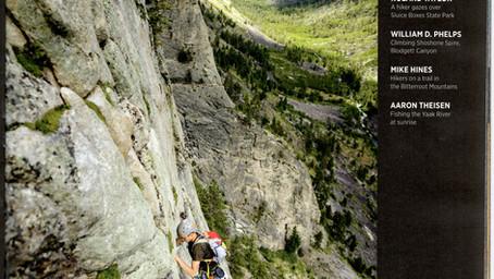 Rock Climbing Image in Montana Outdoors