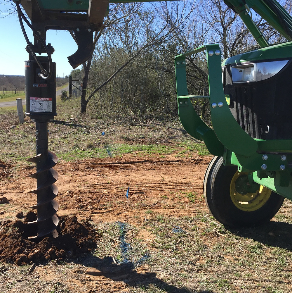 things to do before you build livestock fence utility marking water line