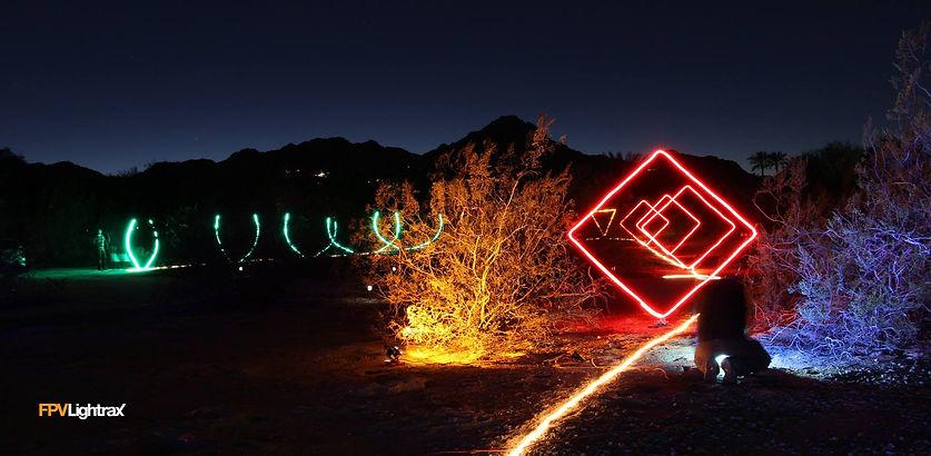 Night Drone Racing