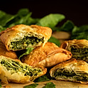 SPANAKOPITA AND SALAD