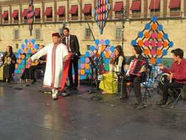 Nour Marruecos  en el Zócalo