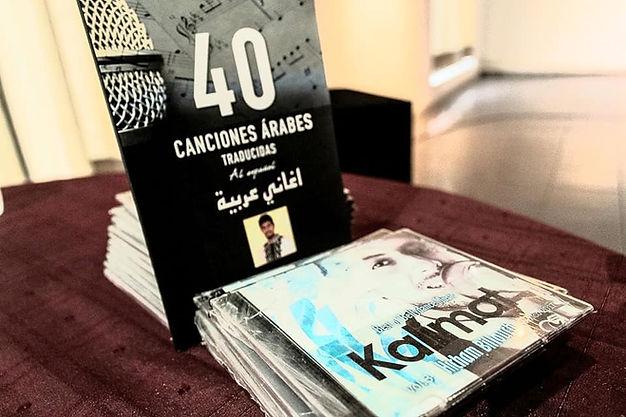 Album de música árabe por el maestro Hicham Billouch en México